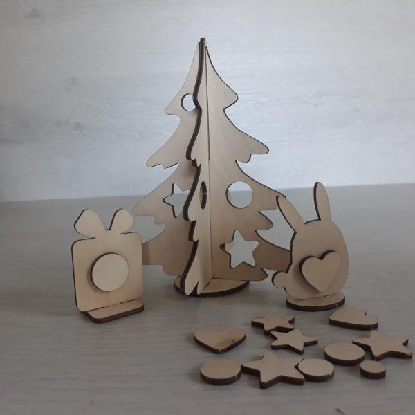 Kalėdų eglė dovana